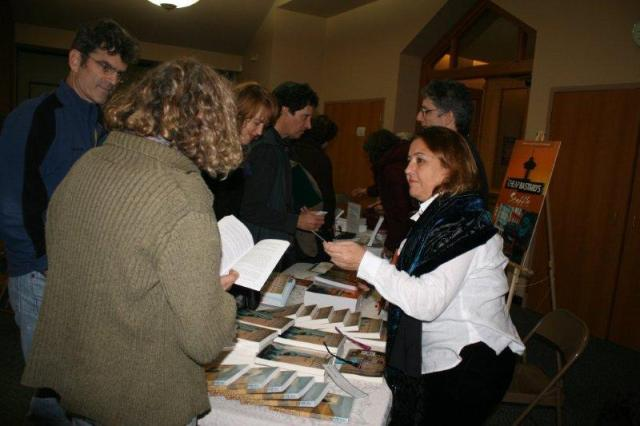 Revital Shiri-Horowitz at her booksigning